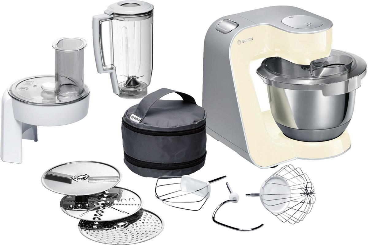Кухонный комбайн Bosch MUM58920, Vanilla Silver