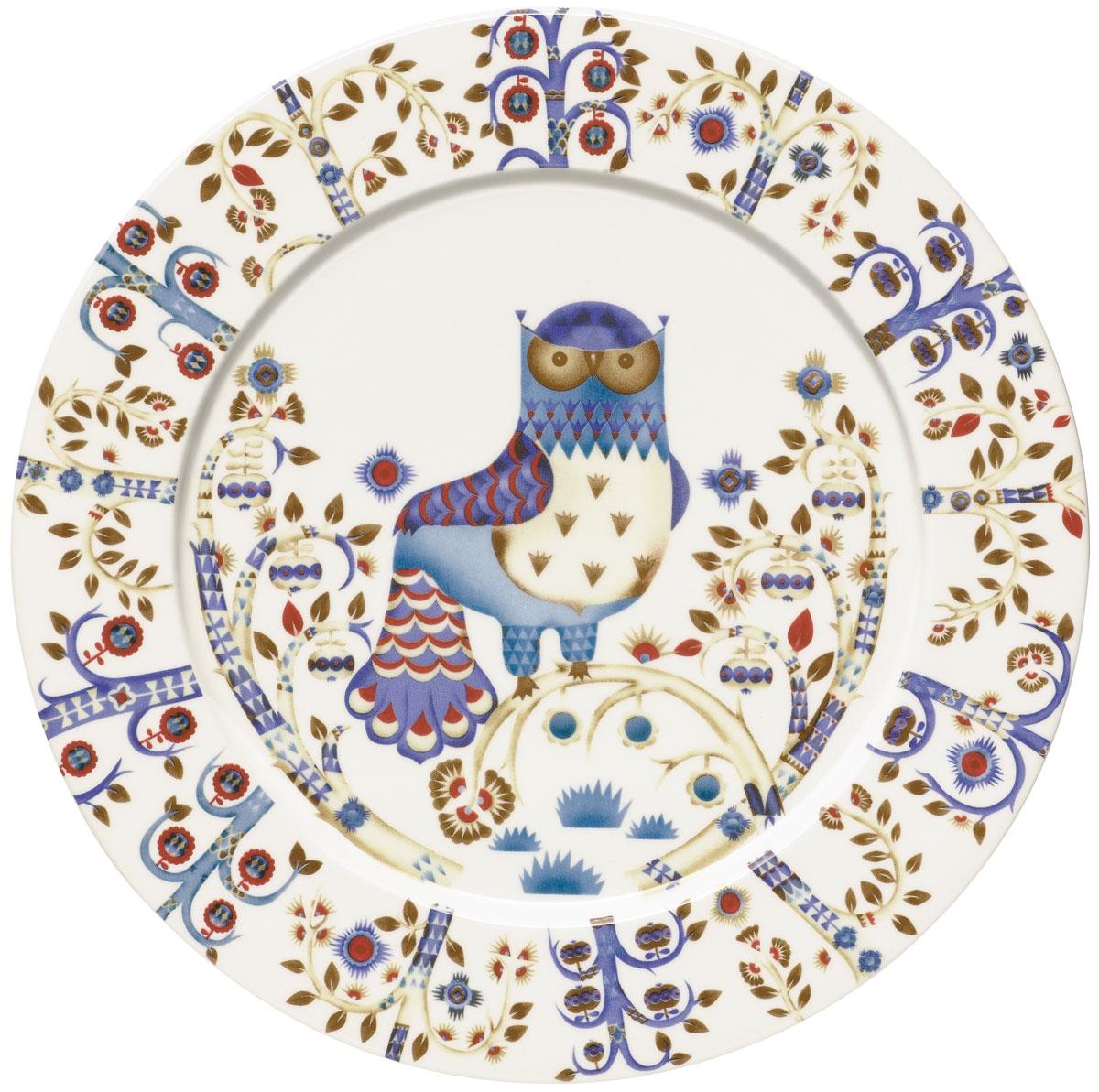 Тарелка Iittala Taika, цвет: белый, диаметр 30 см iittala тарелка taika