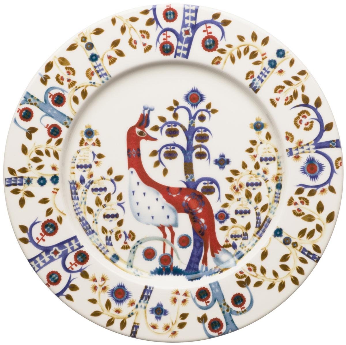 Тарелка Iittala Taika, цвет: белый, диаметр 22 см iittala тарелка taika