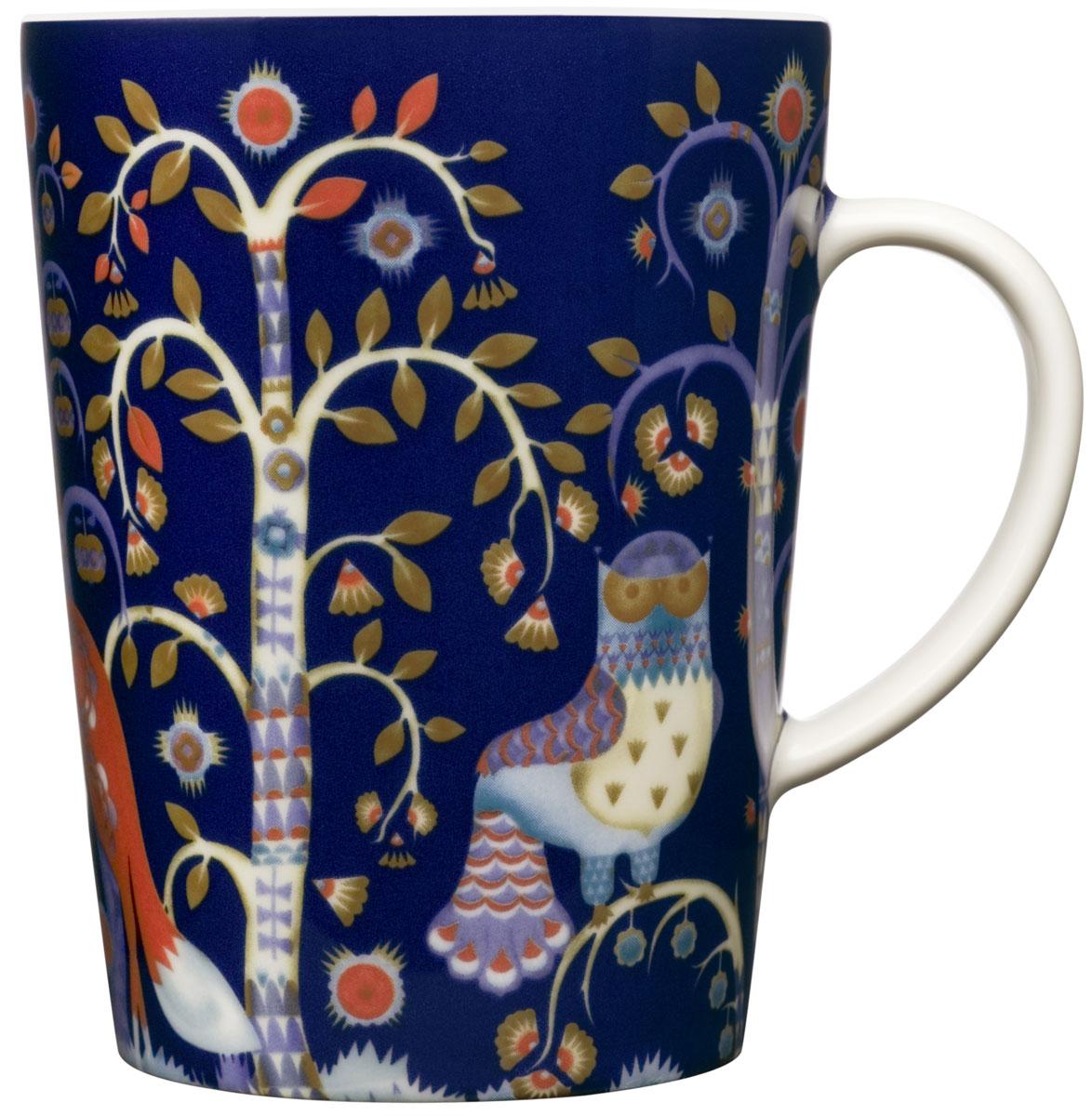 Чашка Iittala Taika, цвет: синий, 400 мл пиала iittala sarjaton цвет белый 680 мл