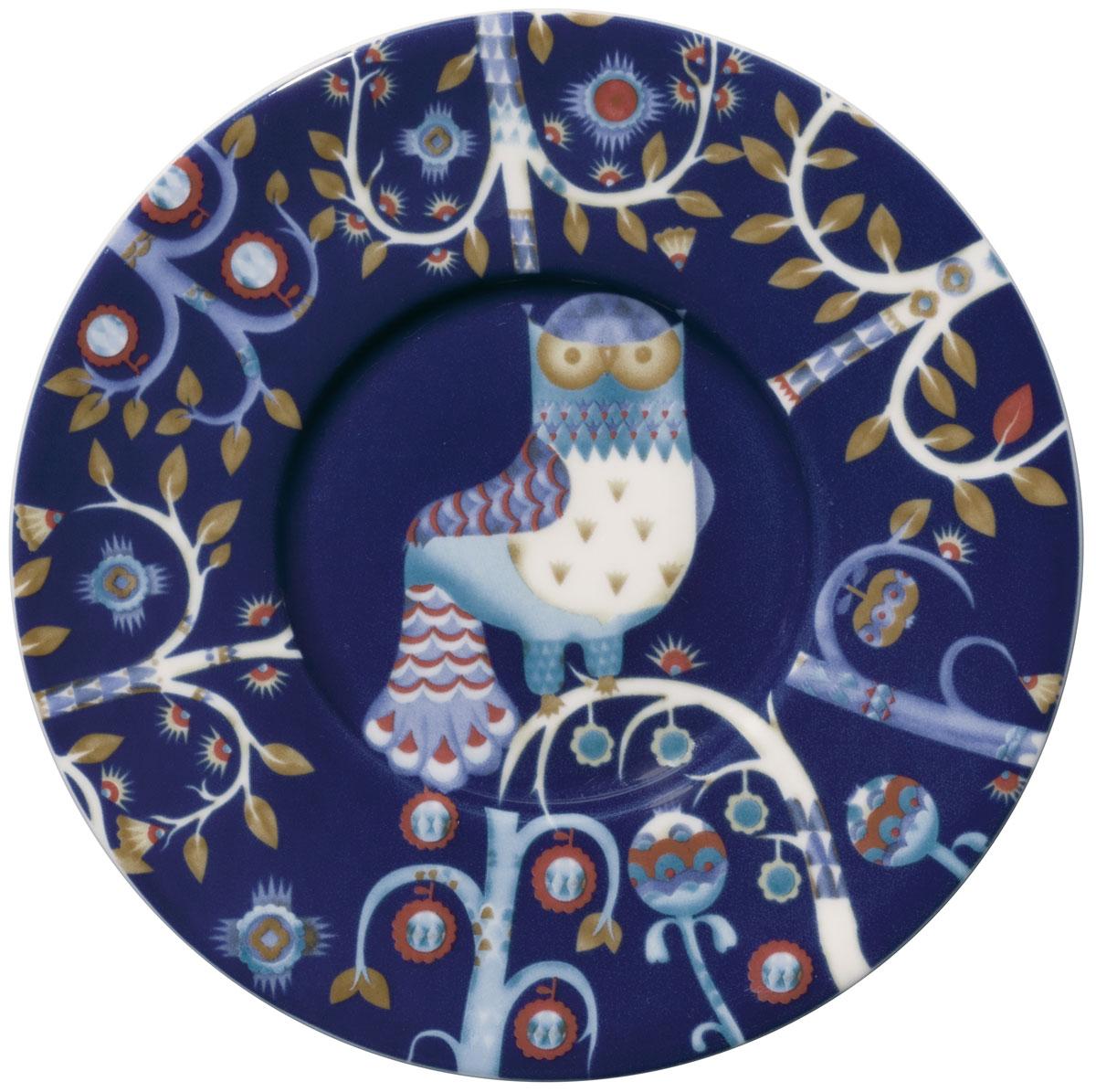 Блюдце Iittala Taika, цвет: синий, диаметр 15 см iittala тарелка taika