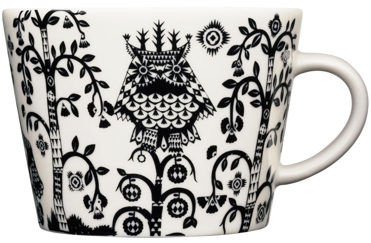 Чашка кофейная Iittala Taika, цвет: черный, 200 мл пиала iittala sarjaton цвет белый 680 мл