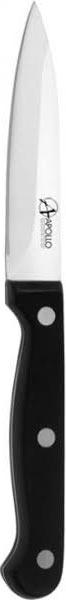 Нож для овощей Apollo Saphire, цвет: серебристый, черный, длина лезвия 8 см рукоятка для лезвия резака для обработки плинтусов leister 14538