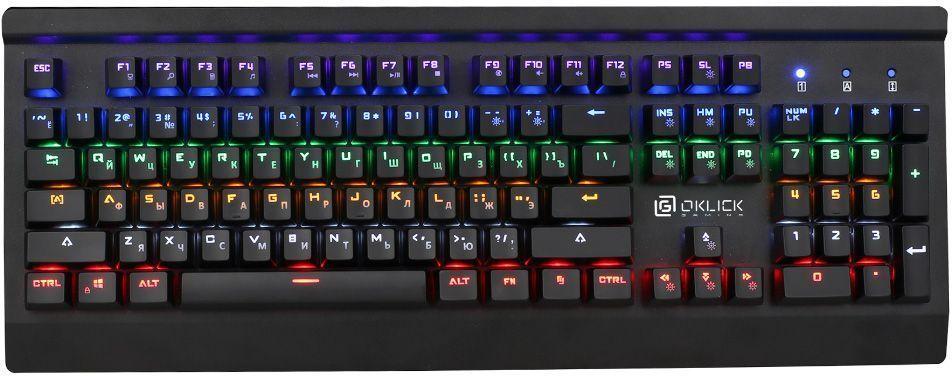 Игровая клавиатура Oklick 920G Iron Edge, Black