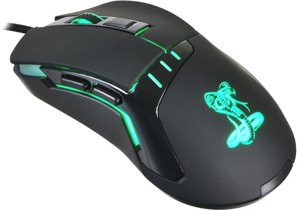 Игровая мышь Oklick 865G Snake, Black