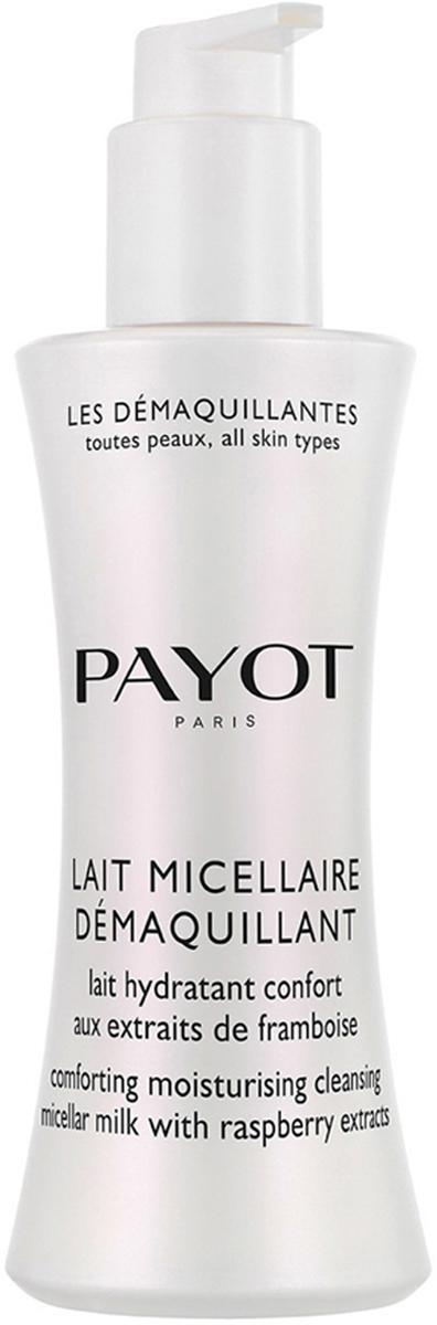 Payot Les Demaquillantes Молочко очищающее мицеллярное для всех типов кожи, 200 мл молочко мицеллярное для лица lierac lait micellaire 200 мл
