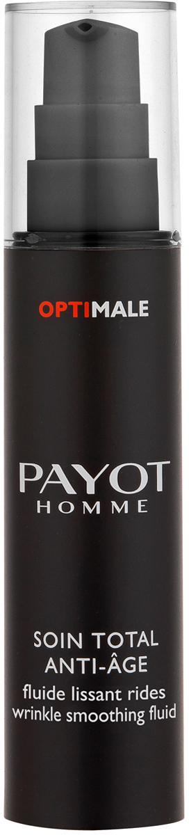 Payot Optimale Флюид для разглаживания морщин, 50 мл набор для мужчин payot optimale флюид для разглаживания морщин 50 мл пена для бритья 100 мл дезодорант ролик 75 мл косметичка