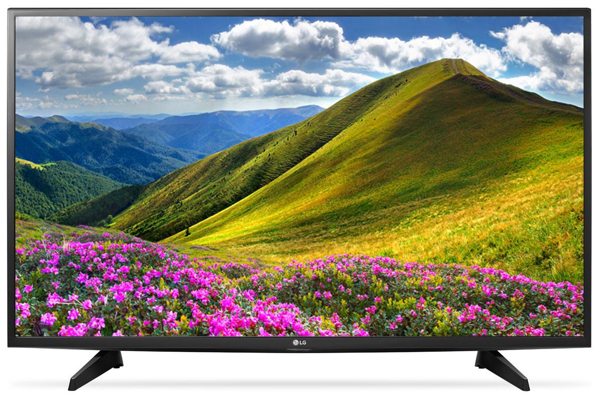 Телевизор LG 43LJ510V 43, черный lg 43lj510v черный