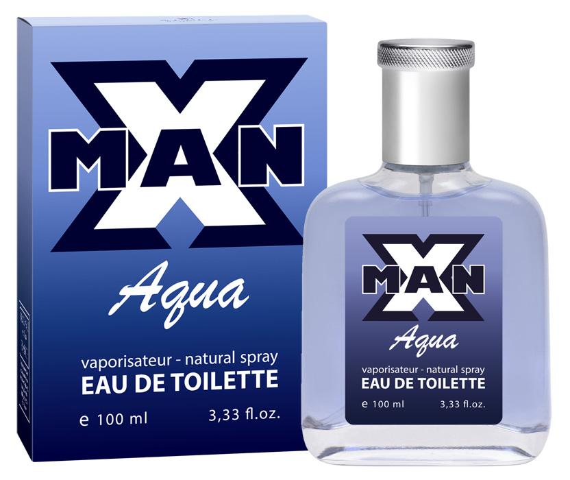 Туалетная вода Apple Parfums X man Aqua мужская 100ml