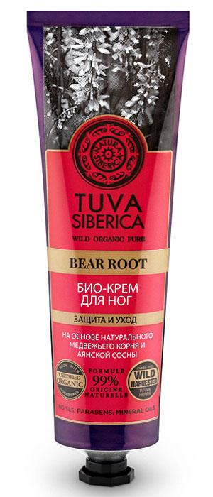 Natura Siberica Tuva Био-крем для ног защита и уход, 75 мл