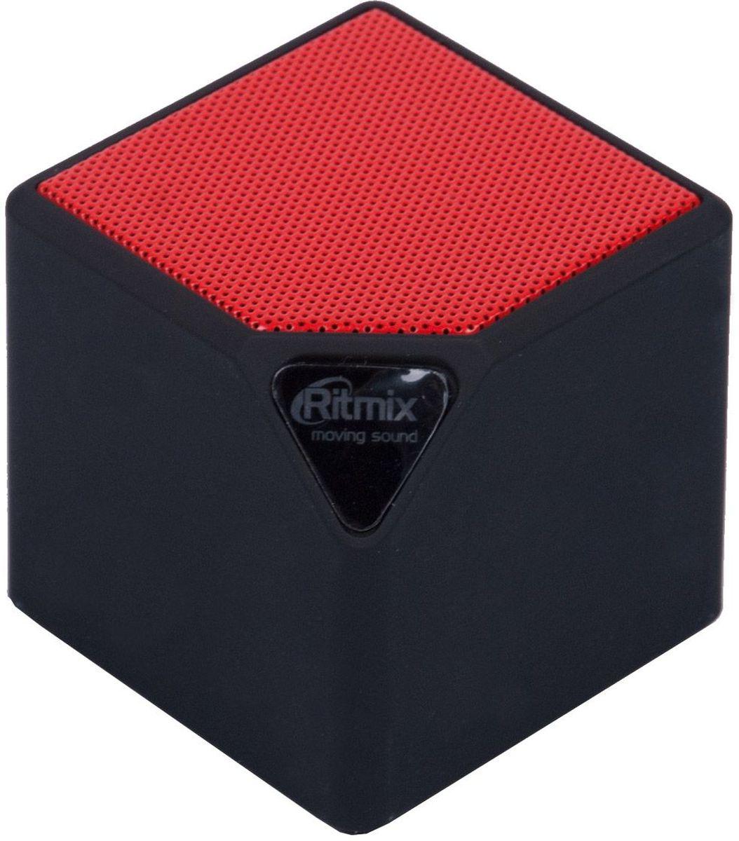 Беспроводная колонка Ritmix SP-140B, Black Red