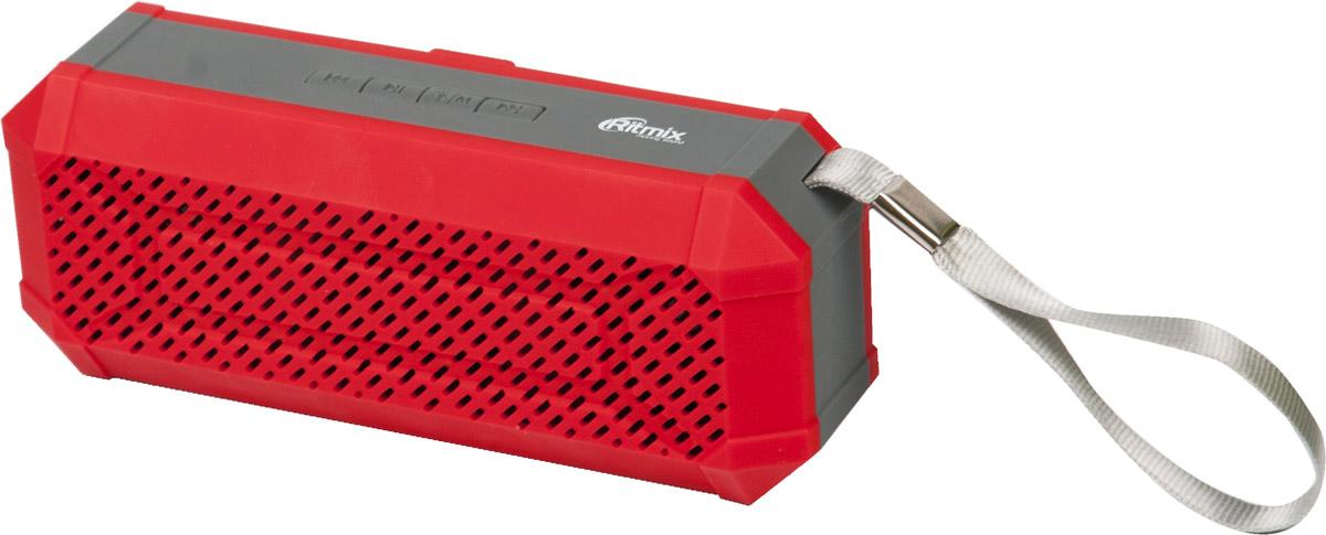 Беспроводная колонка Ritmix SP-260B, Red