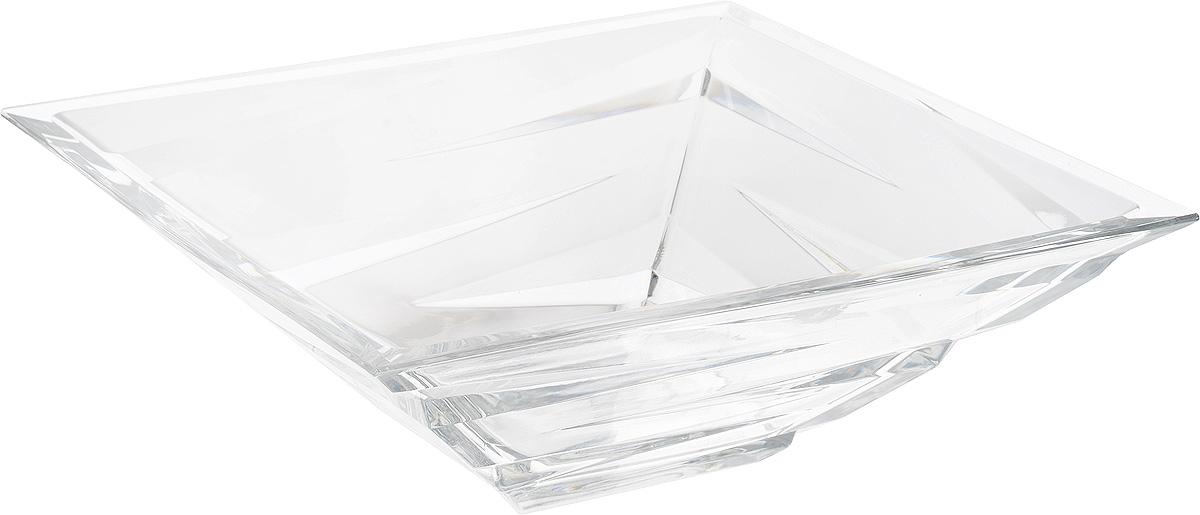 Салатник Crystal Bohemia, 28,5 х 28,5 х 9,5 см салатник crystal bohemia x lady 29 х 29 см