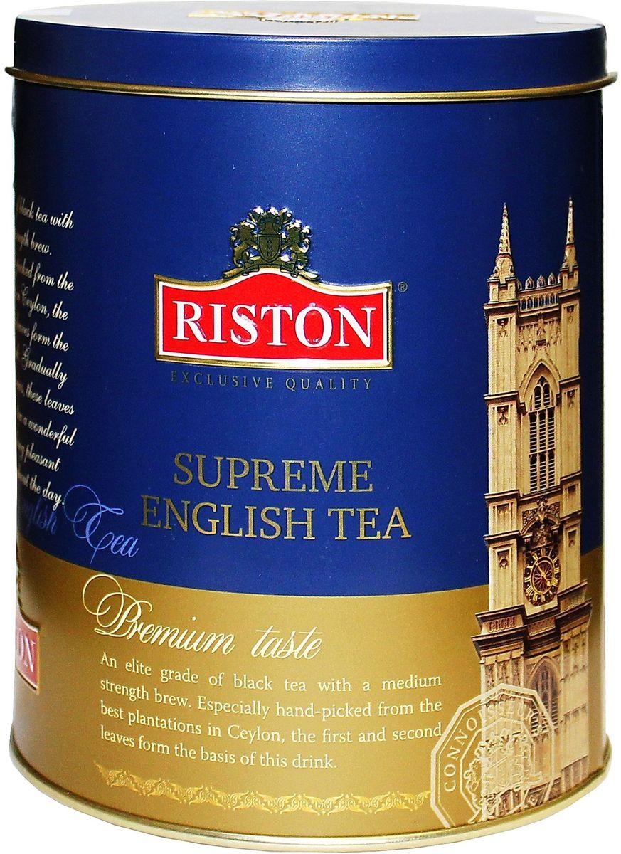 Фото - Riston OPA суприм английский чай черный листовой, 100 г riston элитный английский черный листовой чай 200 г