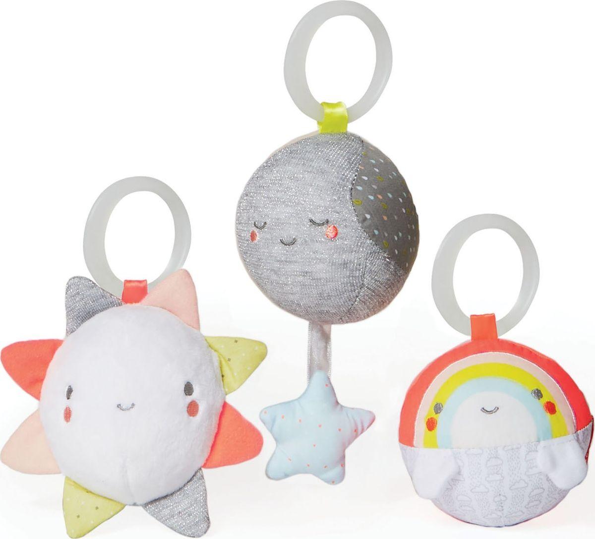 цены на Skip Hop Набор игрушек-подвесок Трио тучки  в интернет-магазинах