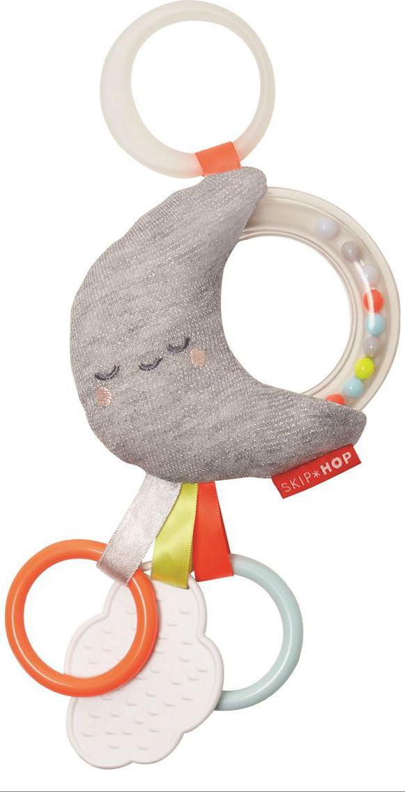 цены на Skip Hop Развивающая игрушка-подвеска Месяц  в интернет-магазинах
