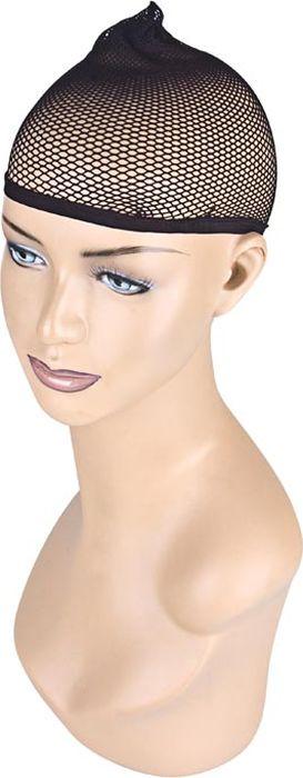 Черная сетка для волос под парик.  Размер универсальный.  EF-WS01 Erotic Fantasy