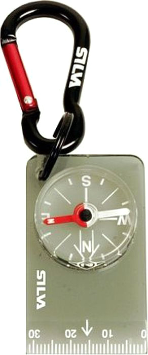 Компас Silva Compass 28 Carabiner, цвет: черный цена