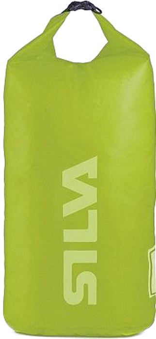 Гермомешок для водного туризма Silva Carry Dry Bag 70D, цвет: салатовый, 24 л