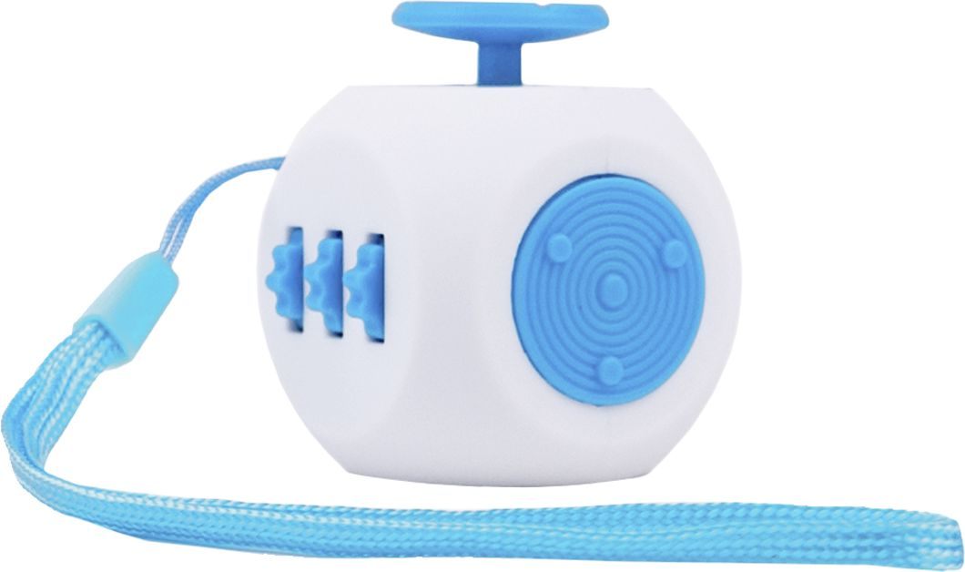 Fidget Cube 3.0 Air Игрушка-антистресс цвет белый голубой