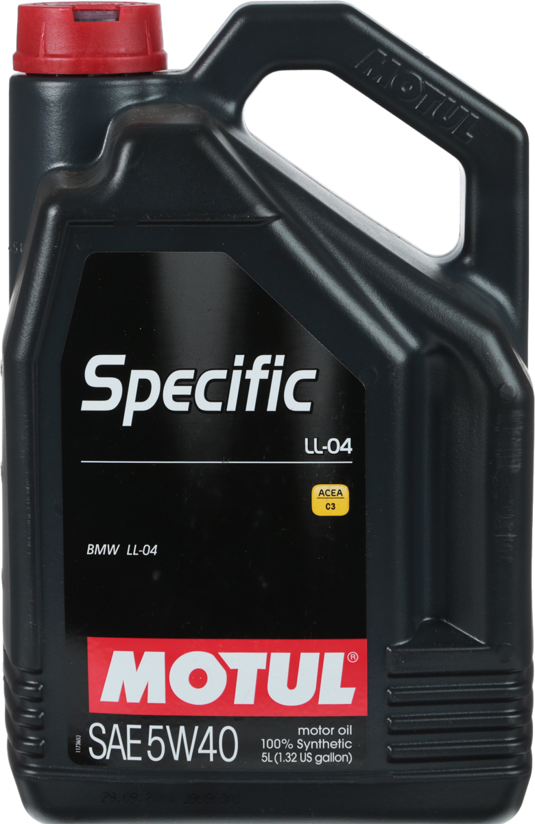 Моторное масло MOTUL 5W-40, 5 л 101274