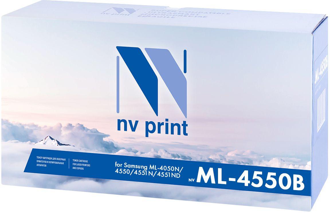 Тонер-картридж NV Print ML-4550B, черный, для лазерного принтера, совместимый