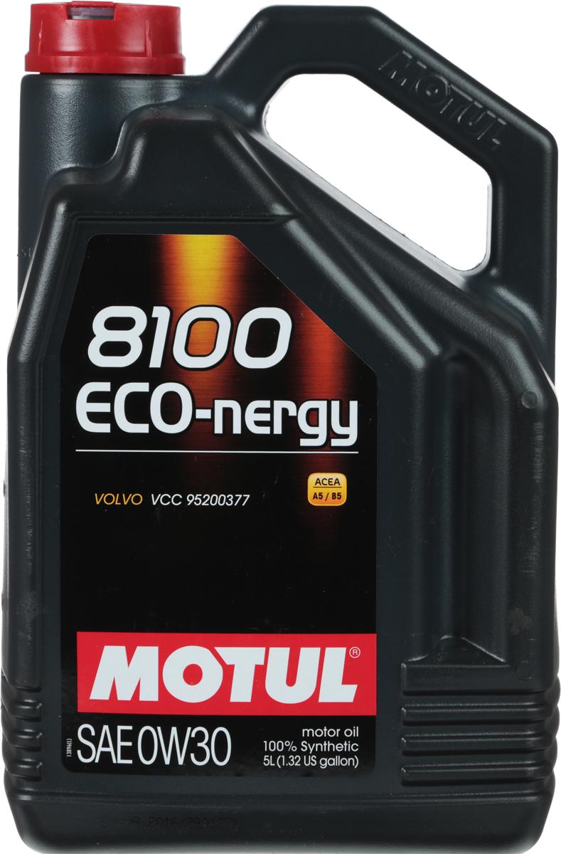 "Масло моторное Motul ""8100 Eco-Nergy"", синтетическое, 0W-30, 5 л"