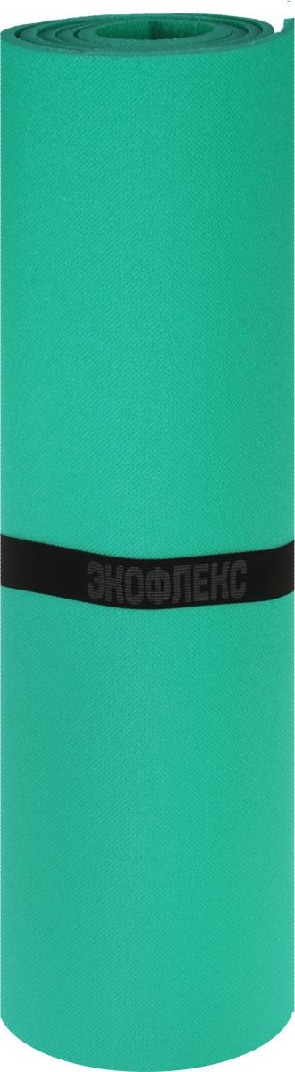 Коврик туристический Пенолон, цвет: зеленый, 180 х 60 х 0,8 см коврик туристический isolon оptima large s10 op 10 lg nn 506 00 зеленый 180 х 60 см