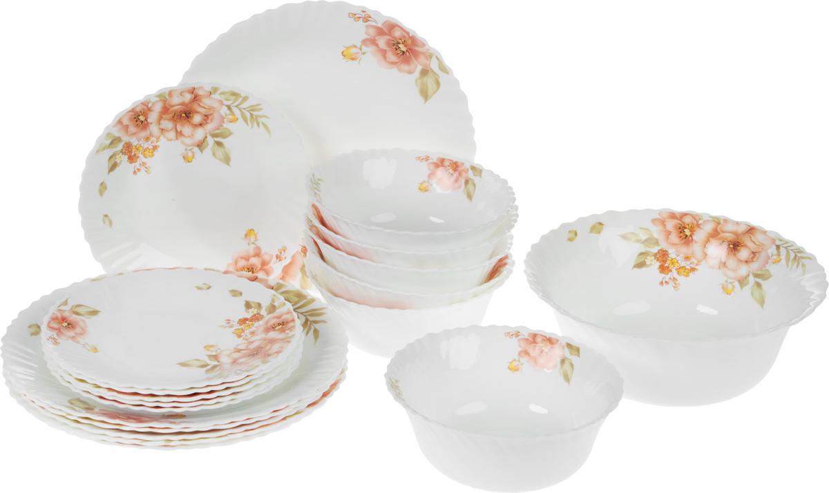 """Набор столовой посуды """"Mayer & Boch"""", 19 предметов. 24102"""