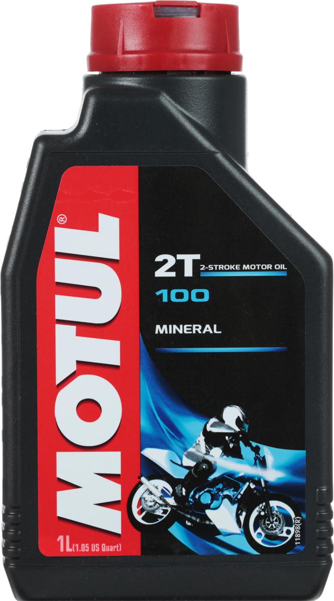 "Масло моторное Motul ""100 2T"", синтетическое, 1 л"