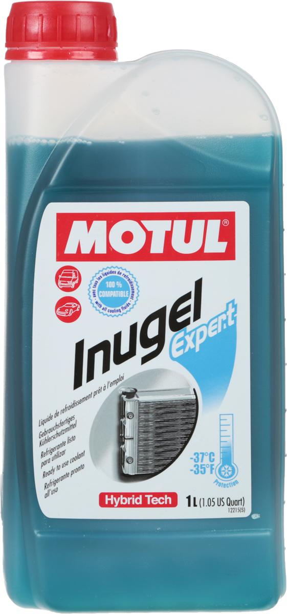 Антифриз Motul Inugel Expert -37, цвет: синий, зеленый, 1 л антифриз motul inugel optimal флуоресцентный цвет оранжевый 5 л