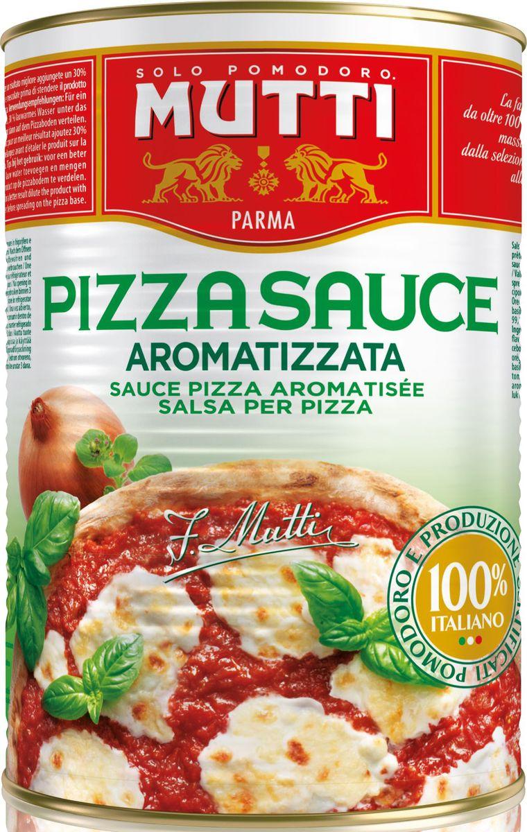 Mutti томатный соус для пиццы ароматизированный, 400 г