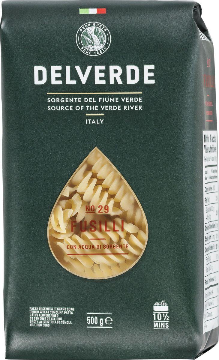 Delverde № 029 паста Фузилли, 500 г