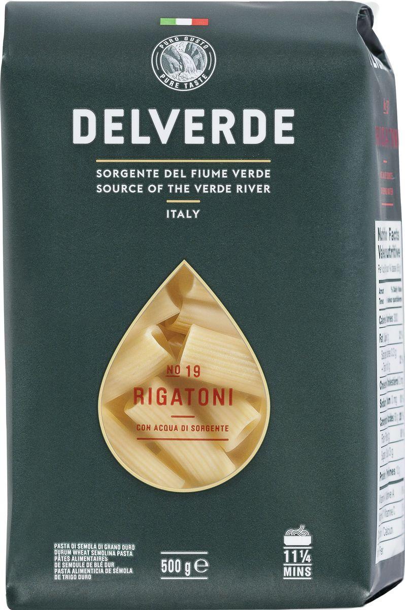 Delverde № 019 паста Ригатони, 500 г