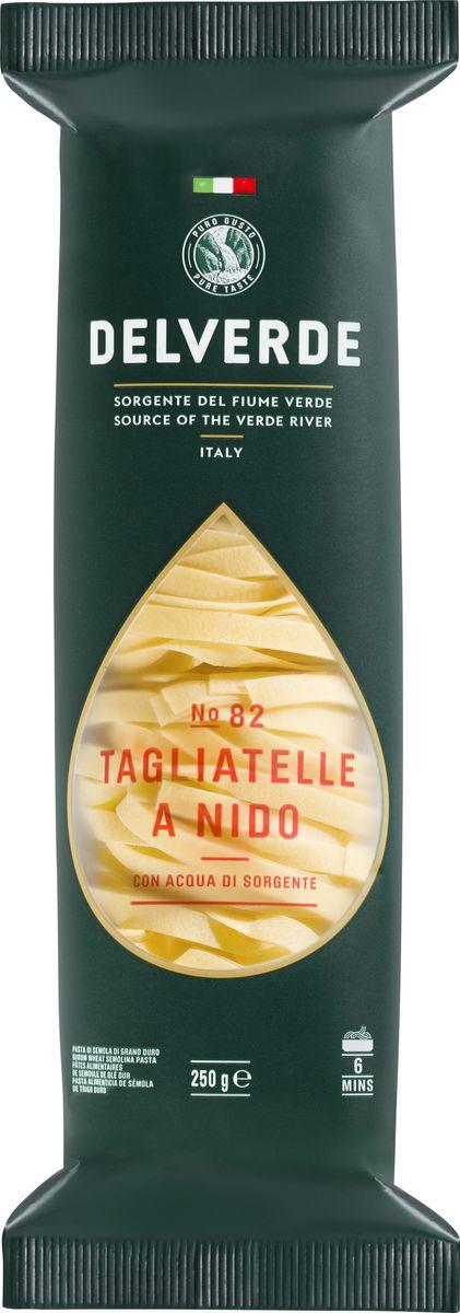 Delverde № 082 паста Тальятелле, 250 г