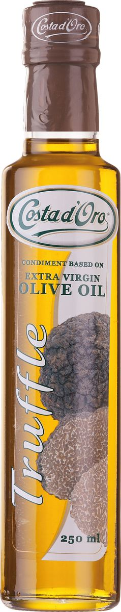 Costa d'Oro Extra Vergine масло оливковое нерафинированное со вкусом и ароматом трюфеля, 250 мл цены