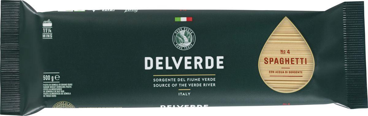 Delverde № 004 Спагетти, 500 г