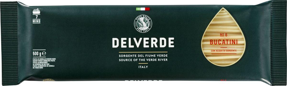 Delverde № 006 паста Букатини, 500 г