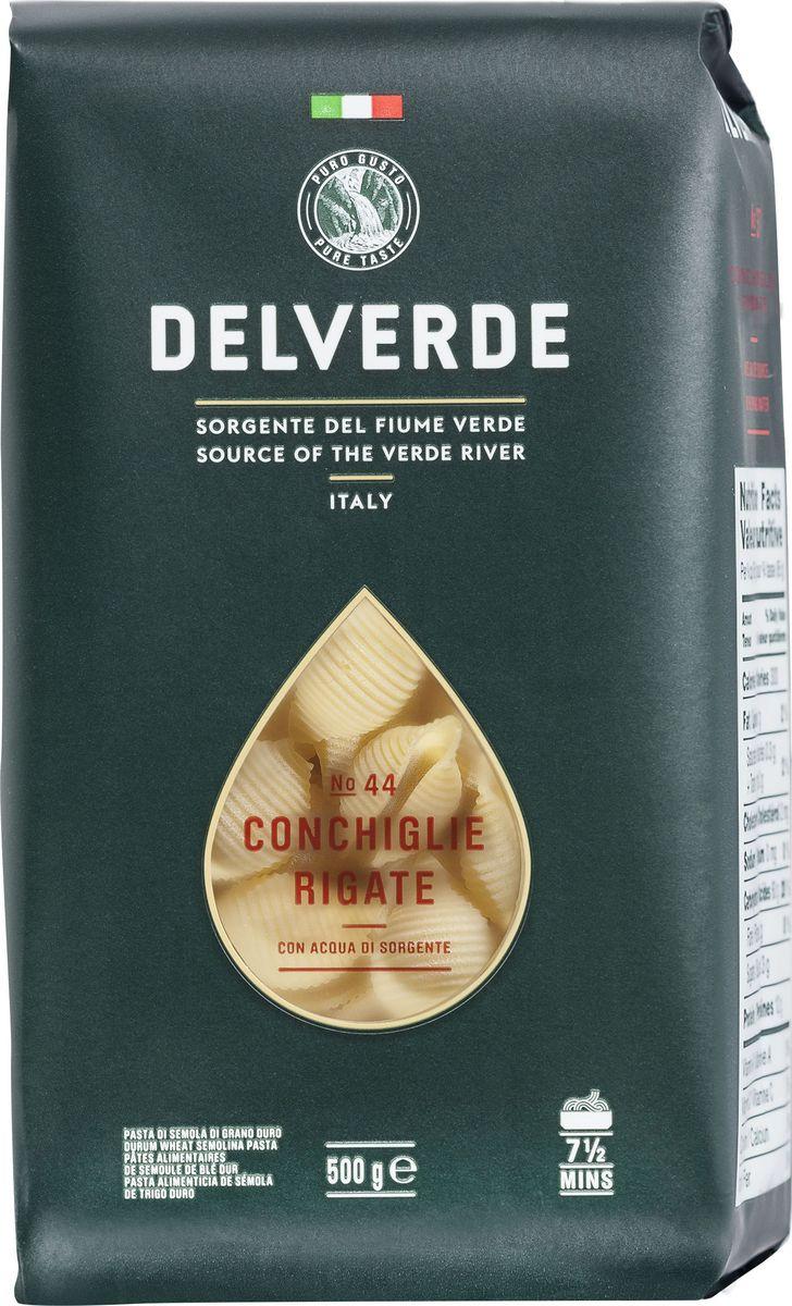 Delverde № 044 паста Конкилье Ригате, 500 г