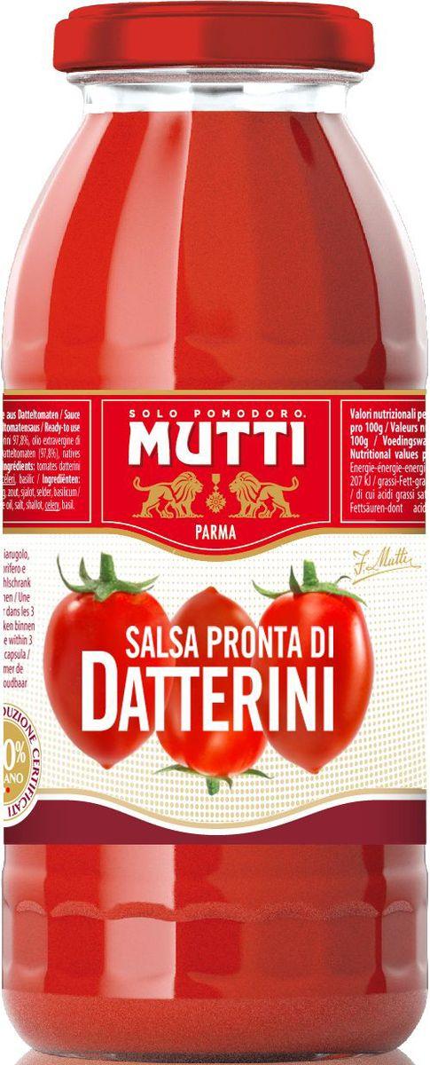 Mutti Сальса Пронта ди Даттерини томатный соус, 400 мл цена