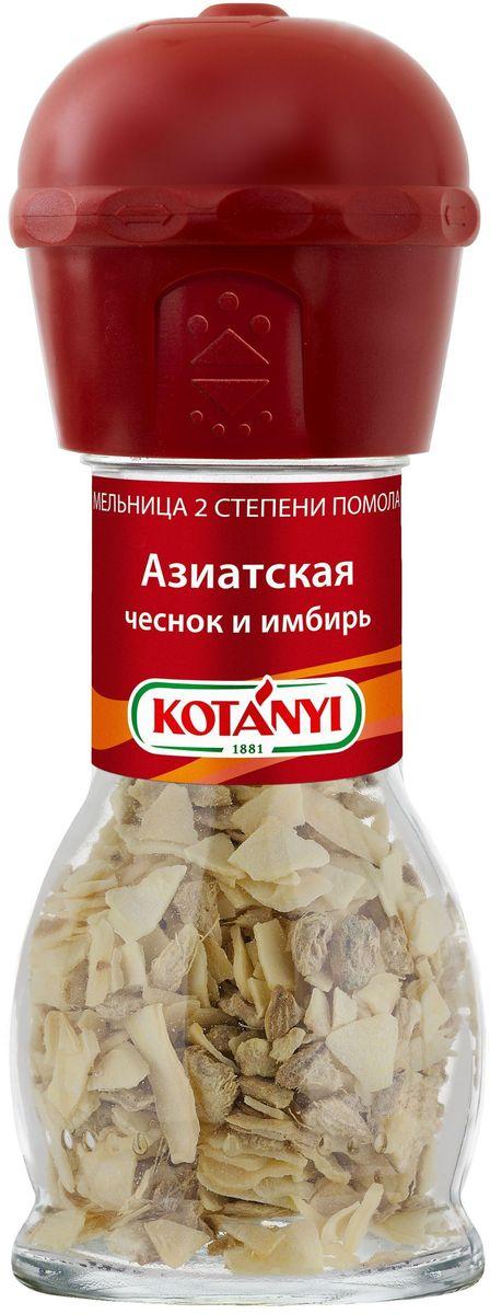 Kotanyi приправа азиатская чеснок и имбирь мельница, 37 г — купить в интернет-магазине OZON с быстрой доставкой