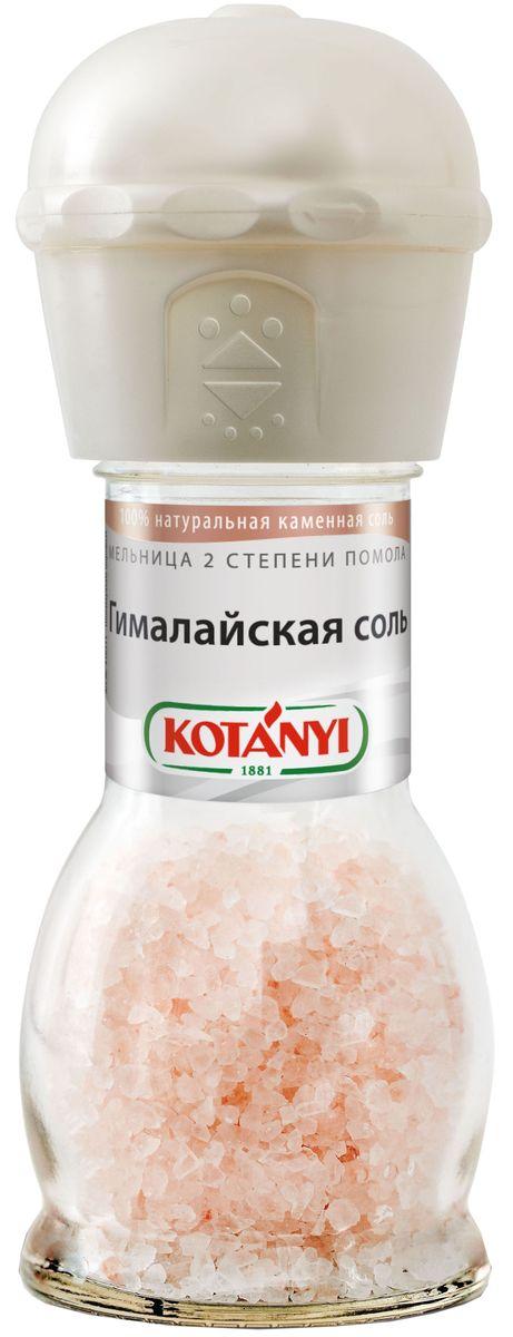 Kotanyi мельница соль гималайская поваренная с йодом, 88 г соль гималайская черная пищевая 200гр