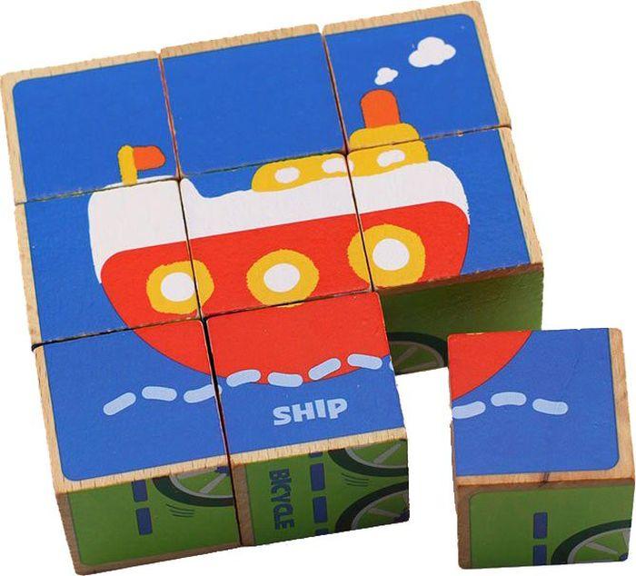 Кубики Benho 14012 развивающая игрушка benho 12001