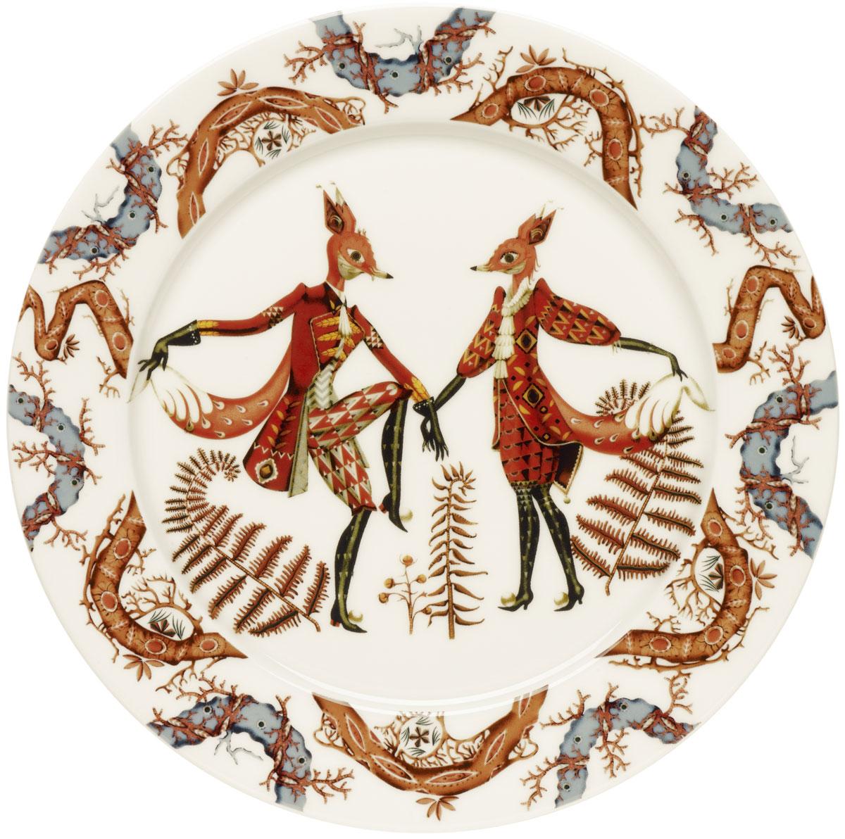 Тарелка Iittala Tanssi, диаметр 27 см iittala тарелка taika