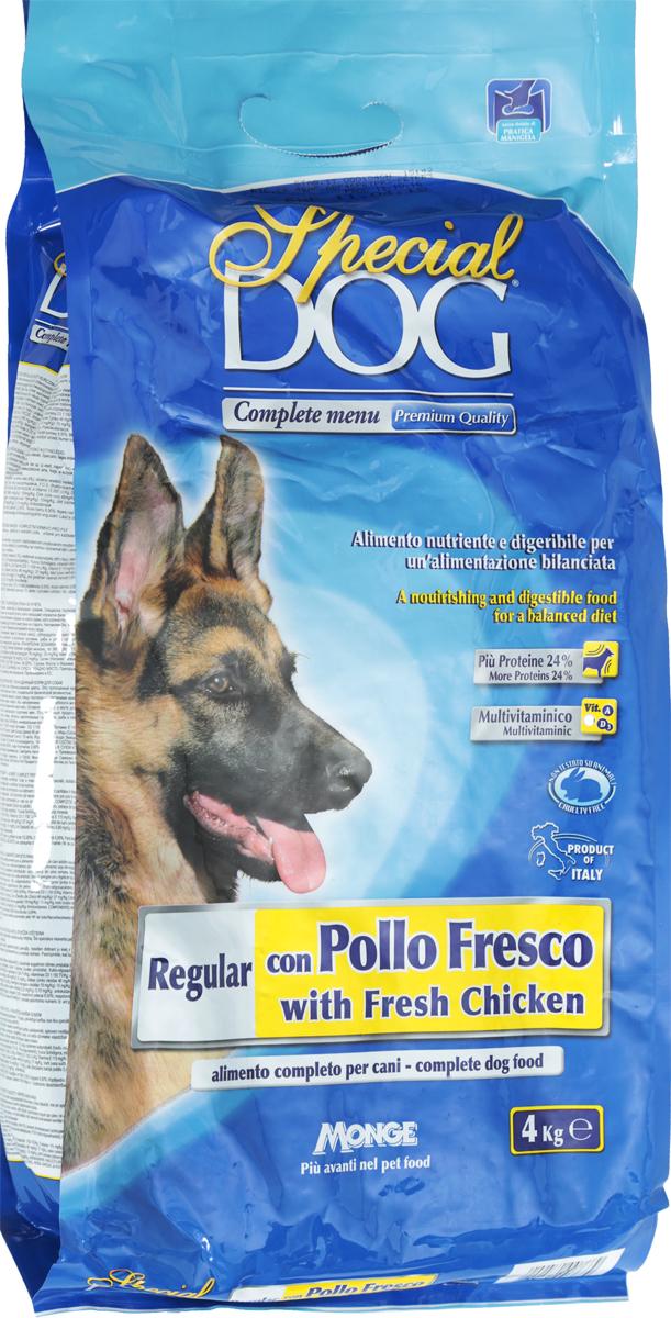 "Корм сухой Monge ""Special Dog"" для собак, со свежей курицей, 4 кг"