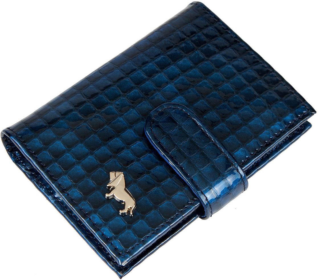 Визитница женская Labbra, цвет: синий. L053-5589 labbra визитница labbra l027 5589 d brown темно коричневый