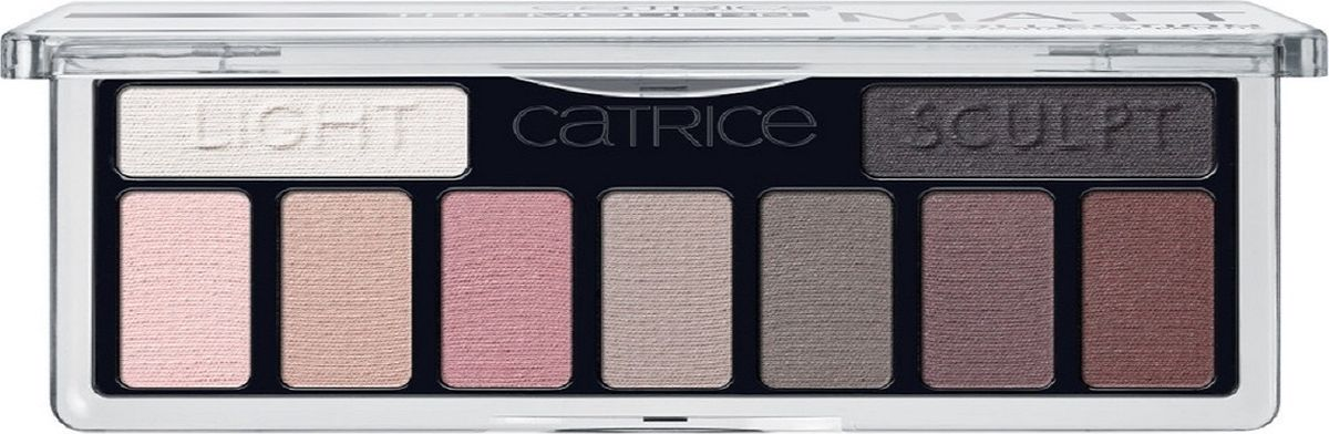 Catrice Тени для век The Modern Matt Collection Eyeshadow Palette 010 матовые, 83 г