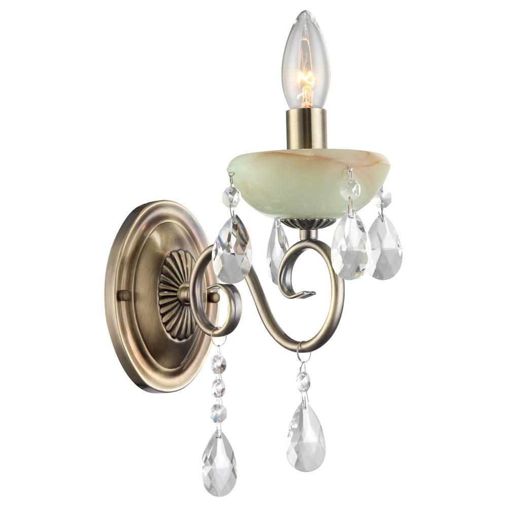 Бра Arte Lamp Onyx Green A9592AP-1AB цены
