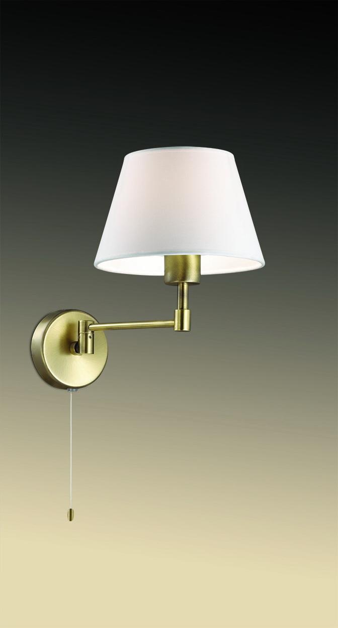 Бра Odeon Light, E14, 40 Вт бра odeon light gemena 2480 1w