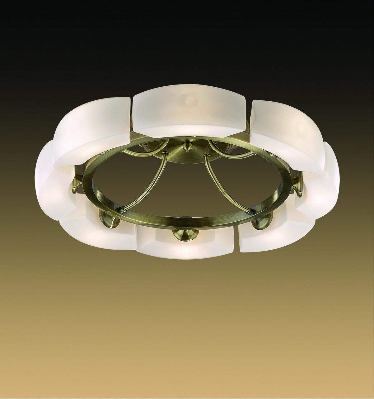 Потолочная люстра Odeon Light Barca 1713/8C потолочная люстра odeon light domeka 2706 8cl